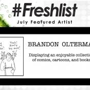 #Freshlist Artist - Brandon Olterman