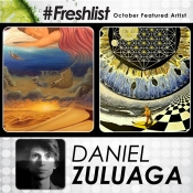 Freshlist Artist OCT 29 - Daniel Zuluaga