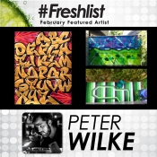 Peter Wilke - Featured Artist Feb 2017
