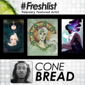 Cone Bread - Featured Artist Feb 2017