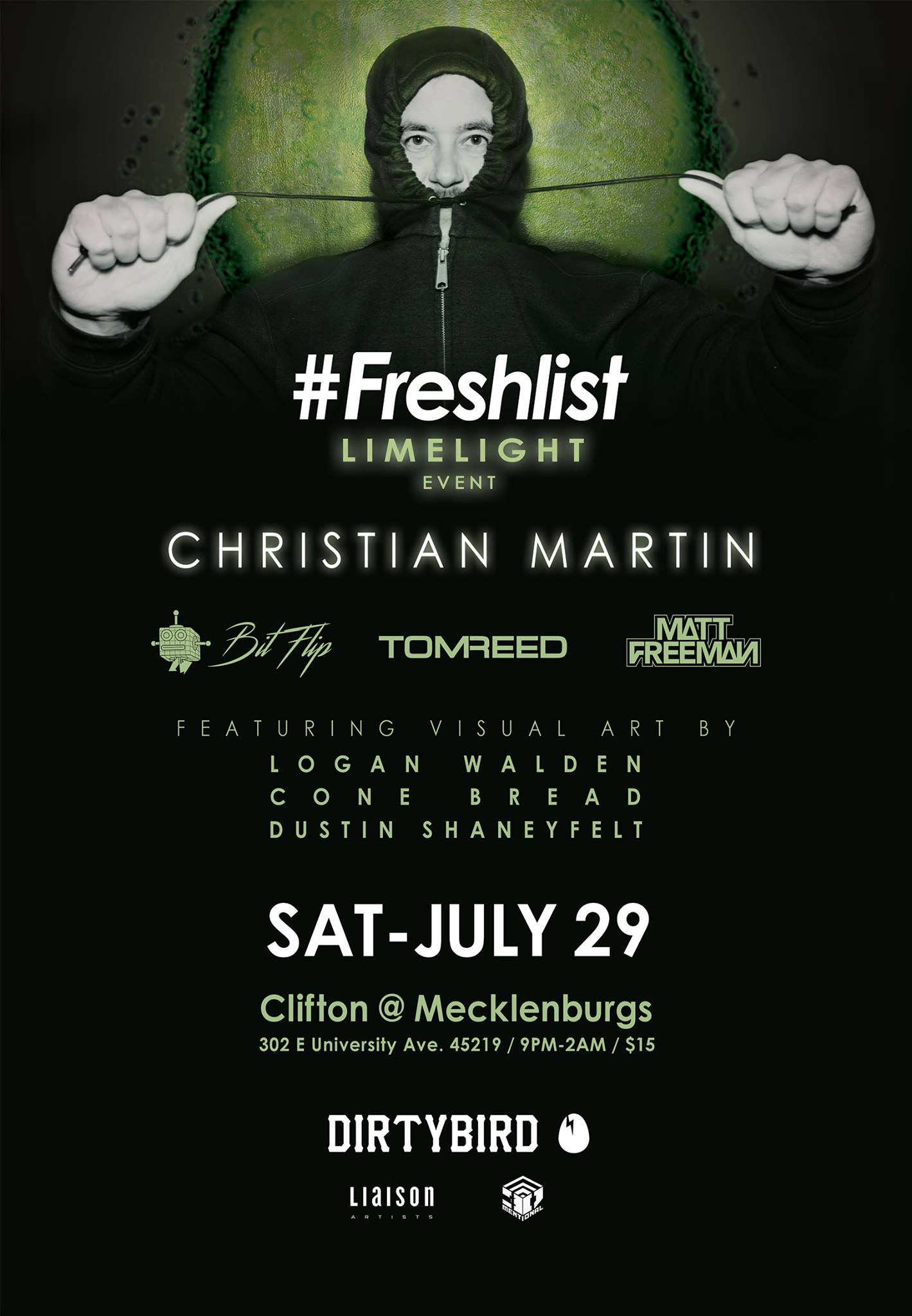 LIMELIGHT 01: Dirtybird Presents Christian Martin