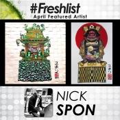 Nick Spon - APRIL 2018